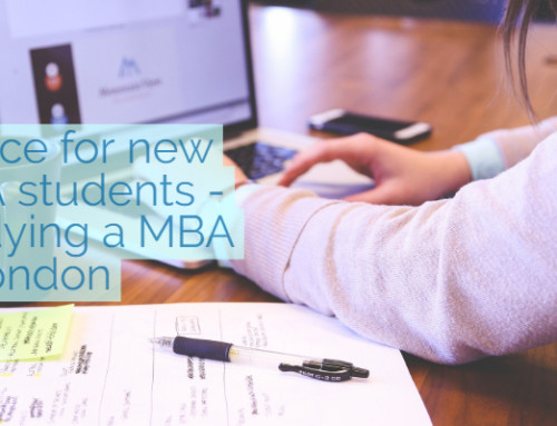 Advice for new MBA students